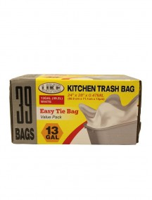 Kitchen Trash Bags 39 ct Value Pack - 13 Gallon