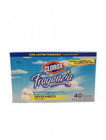 Clorox Dryer Sheets 40 ct - Morning Sky