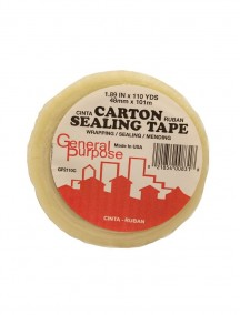 Carton Sealing Tape 1.89 in x 110 yds - Clear