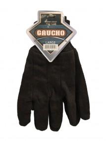 Gaucho Brown Jersey Work Gloves