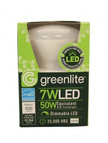 Greenlite LED Floodlight Bulb 7w/50w 1 ct