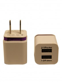 USB Wall Charger - Compatible with iPad and iPhone