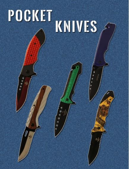 Pocket Knives - Assorted