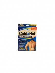 Cold & Hot Extra Strength Medicated Large Patch 2 pk