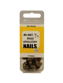Ant. Brass Upholstery Nails #9
