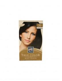 Lucky Super Soft True Color Blue Black #20 Permanent Hair Color Cream