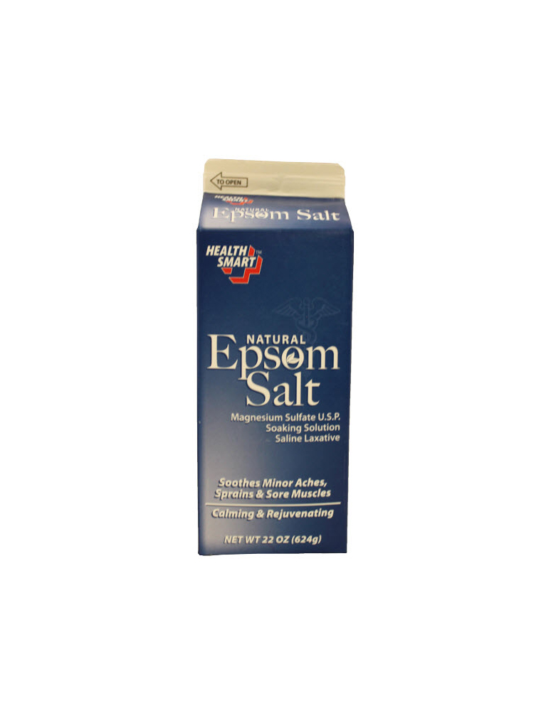 Health Smart Natural Epsom Salt 22 oz