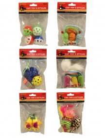 Cat Toy 6 Styles Mixed