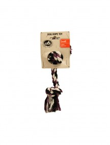 Pet Champion Dog Rope Toy Small - 2 Knots