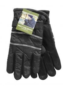 Men Grip Gloves Insulated