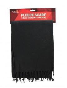 Fleece Scarf - Black