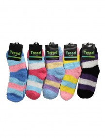 Cozy Socks for Women - Assorted Stripe Colors