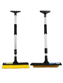 Telescopic Snow Brush, Squeegee & Scraper