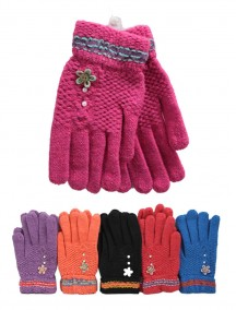 Women Gloves - Assorted Colors