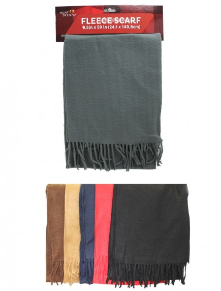 Fleece Scarf - Assorted Colors
