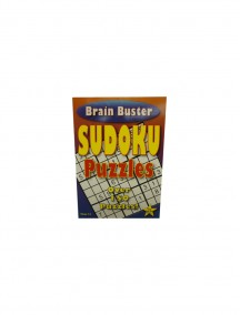Brain Buster Sudoku Puzzle Book Volume# 12