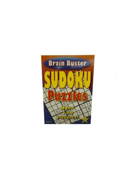 Brain Buster Sudoku Puzzle Book Volume# 12