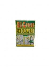 Big Print Find-A-Word Volume# 11