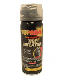 Super X Emergency Tire Inflator 12 oz