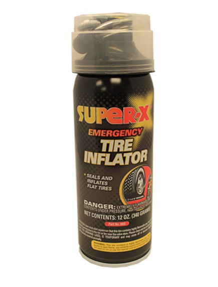 Super X Emergency Tire Inflator 12 oz